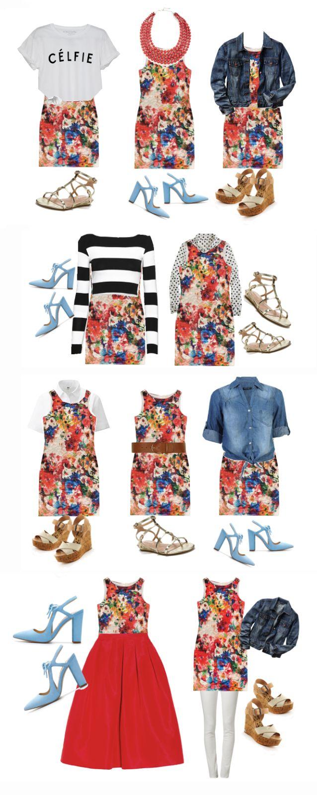 10 wears to wear a floral dress