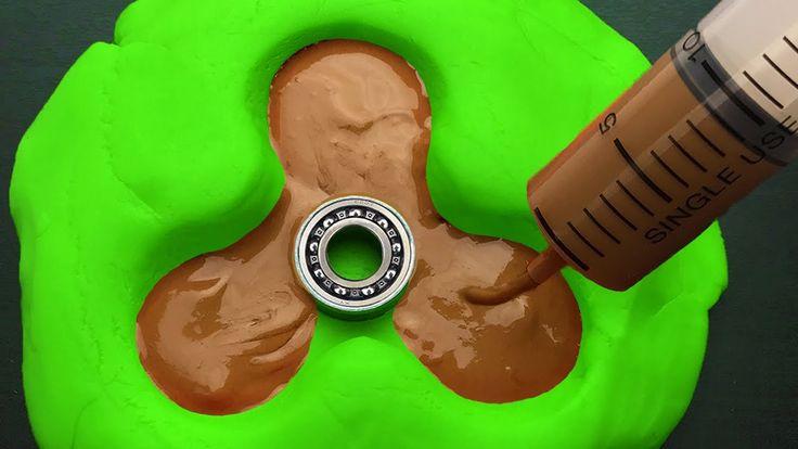 DIY Chocolate Fidget Spinner - YouTube