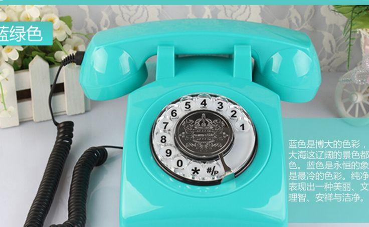 Encontrar Más Teléfonos Información acerca de Antiguo rotación dial número teléfonos alta teléfonos antiguos de europa a casa de 6 colores, alta calidad teléfono con cable teléfonos, China microteléfono del teléfono celular Proveedores, barato teléfono PCB de shoes 566 en Aliexpress.com