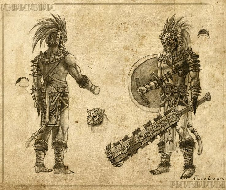 Aztec Jaguar by ~creative-horizon on deviantART