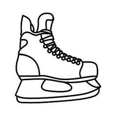 hockey skate template - Google Search