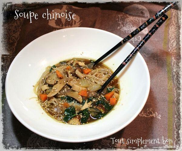 Soupe Chinoise .