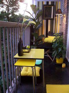 Oltre 25 fantastiche idee su Balconi piccoli su Pinterest  Balcone ...
