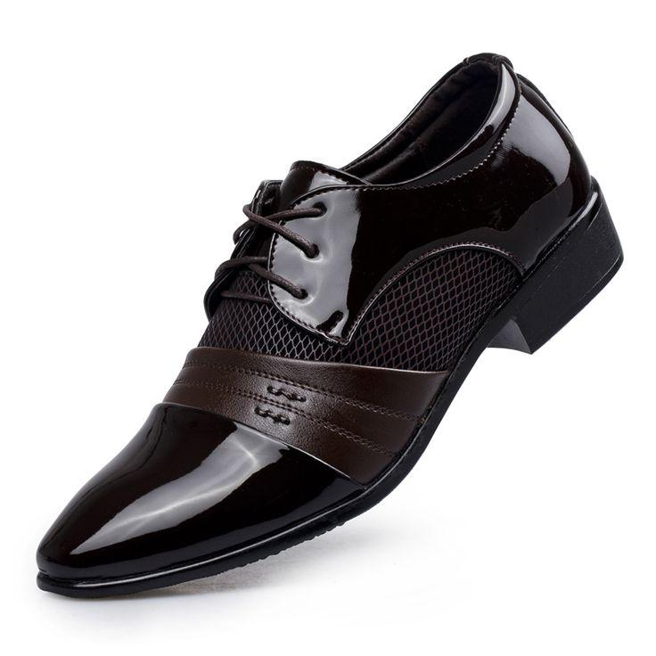 2017 Men Dress Men Oxford Shoes Lace Up Men Flats Shoes Wedding Male Business Germany Wedding Shoes Dress Shoes Large Sizes #Men dress shoes http://www.ku-ki-shop.com/shop/men-dress-shoes/2017-men-dress-men-oxford-shoes-lace-up-men-flats-shoes-wedding-male-business-germany-wedding-shoes-dress-shoes-large-sizes/