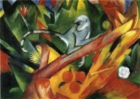 The Monkey - Franz Marc