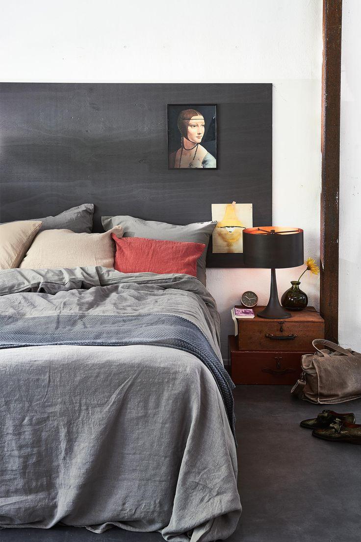 aardetinten slaapkamer | earth tones bedroom | vtwonen 13-2016 | photography:Dennis Brandsma | styling: Fietje Bruijn