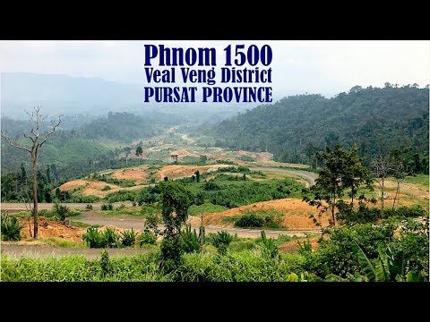 Travel to Phnom 1500 at Veal Veng District in Pursat Province | Travel G...