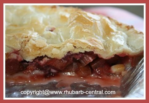 SCURMPTIOUSLY SCRUMPTIOUS!! Rhubarb Strawberry Pie - using rhubarb from the freezer and fresh OR frozen berries!