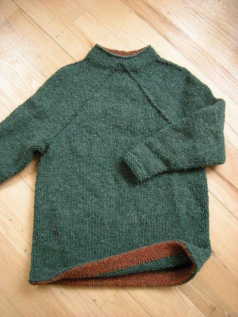Ravelry: Hurry-Up Last Minute Sweater (December) pattern by Elizabeth Zimmermann