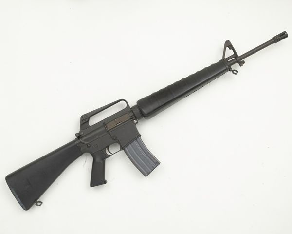 Armalite AR15 5 56 mm self-loading rifle used by the Provisional