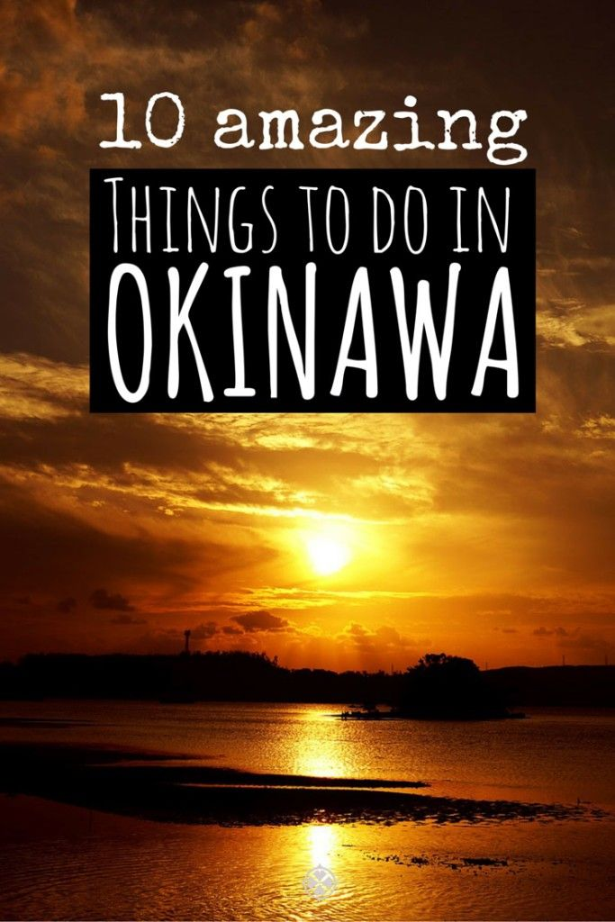 10 amazing things to do in Okinawa, Japan. The breathtaking island is so similar to Hawaii, yet has one tenth of the crowd. Okinawa really is an insider's tip.