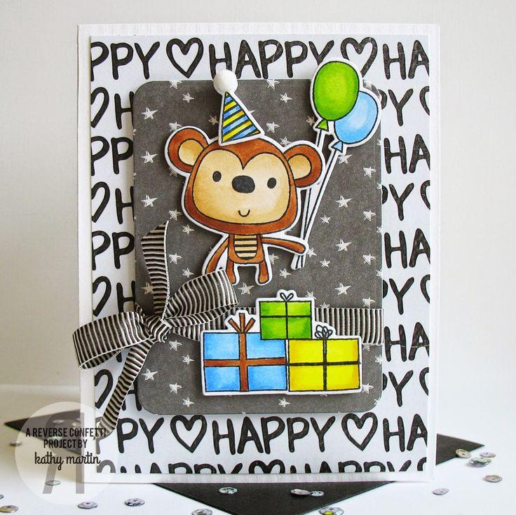 26 best Monkey Business Stamp Set images on Pinterest | Monkey ...