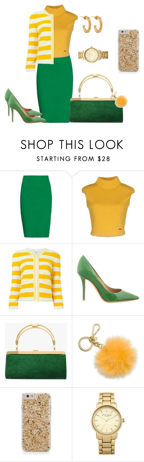 """""""9 am  Meeting"""" by shirley-de-gannes ❤ liked on Polyvore featuring Tomas Maier, Dsquared2, Sonia Rykiel, Salvatore Ferragamo, Balmain, MICHAEL Michael Kors, Topshop and Jennifer Fisher"""