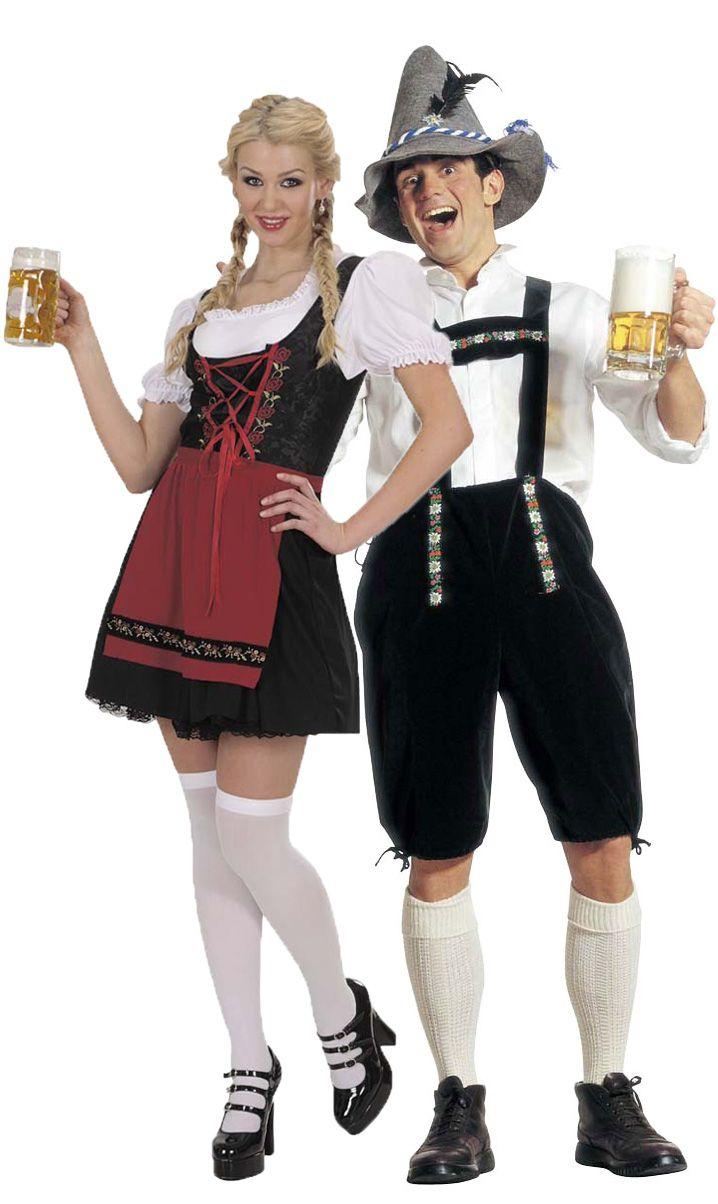 Disfraz de pareja de bávaro : Vegaoo, compra de Disfraces parejas. Disponible en www.vegaoo.es