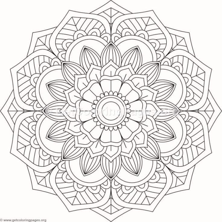 adult coloring pages  malvorlagen mandala