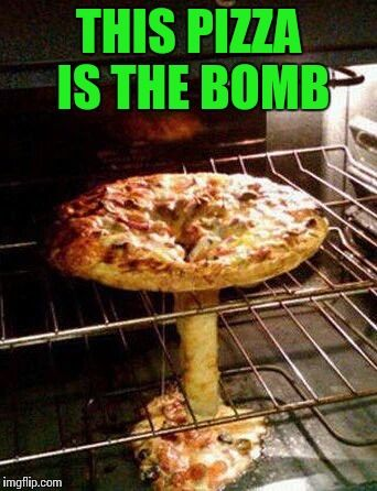 This #pizza is the #bomb #LetsGetWordy