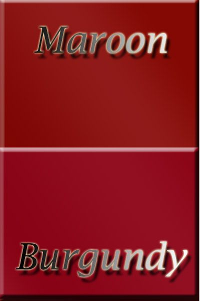 Differences Between Colors Maroon And Burgundy Color Meanings In