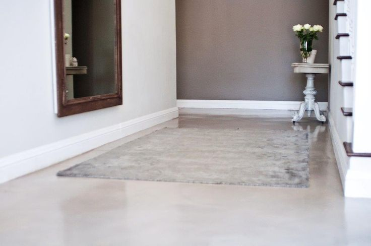 Earthcote pigmented floorcote - colour bleached rope #PaintSmiths #homedecor #floorcote #earthcote #interior #paint #floor