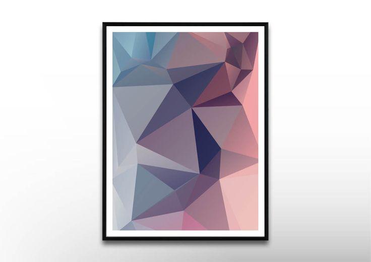 Peachblue moderne poster abstrakte kunstdrucke for Abstrakte kunstdrucke