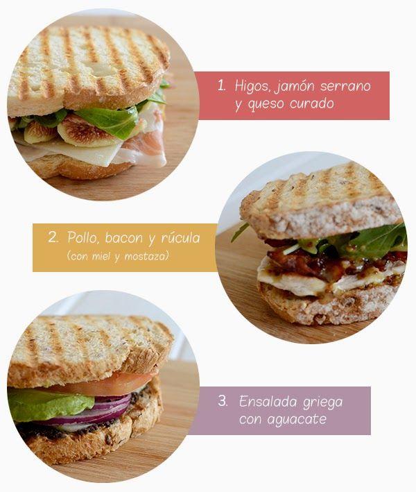 La chica de la casa de caramelo: Tres deliciosos sándwiches para cenas rápidas