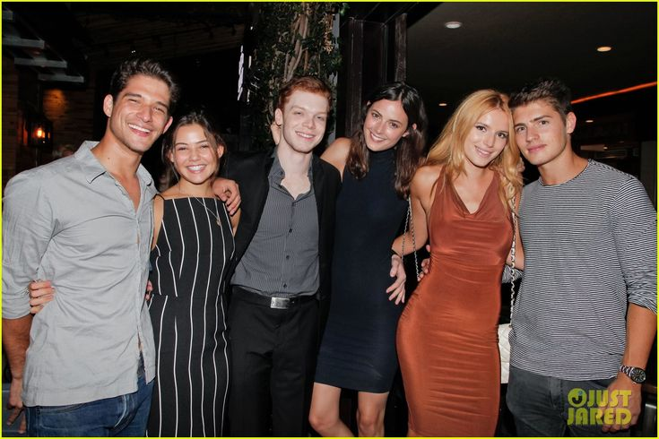 cameron monaghan birthday party 01 Cameron Monaghan and his model girlfriend Sadie Newman pose with their pals Bella Thorne and Gregg Sulkin at his birthday party on Monday night (August 17) at The…
