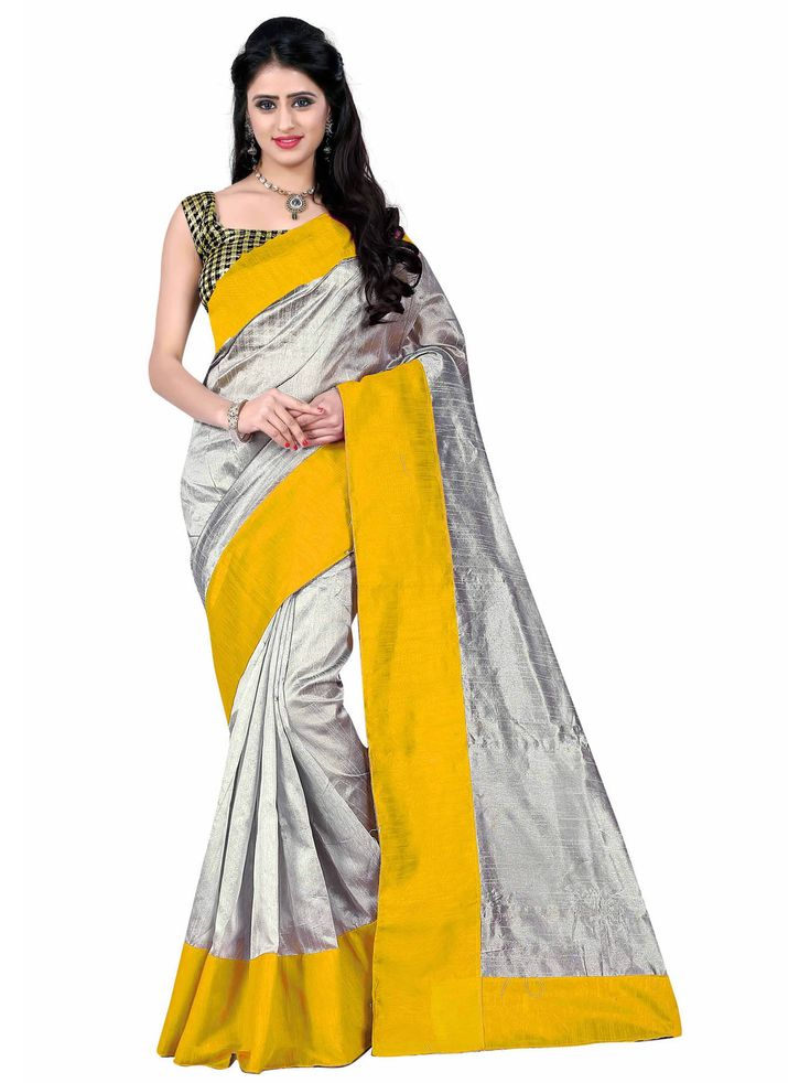 Cotton Silk Solid Casual Saree  Buy Casual Cotton Silk Saree only at Mayloz www.mayloz.com 100% original Products World Wide Express Shipping  Easy Return Policy  Fastest Website Custom Stitching  #mayloz #Cottonsliksarees #sliksarees