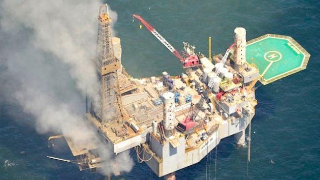 Se incendia plataforma de gas en el golfo de México - Cachicha.com