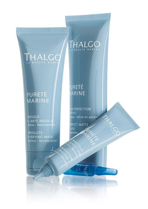 Purete Marine, kosmetyki do tłustej cery, kosmetyki Thalgo