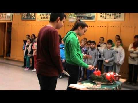 ▶ Harmadik adventi gyertyagyújtás - YouTube