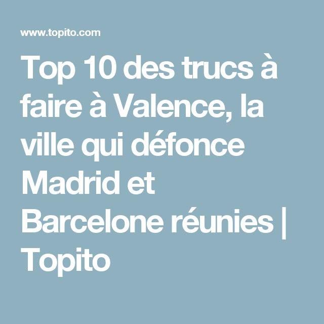 Top 10 des trucs à faire à Valence, la ville qui défonce Madrid et Barcelone réunies   Topito