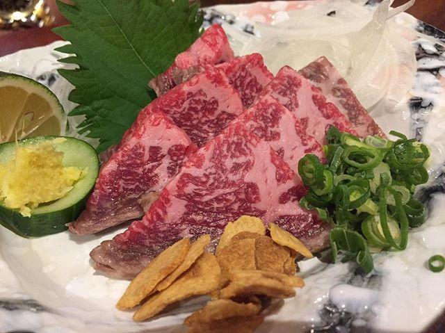 ・ ・ 牛肉たたき ・ #肉 #肉食女子  #牛肉 #たたき #牛肉たたき #ごちそうさまでした