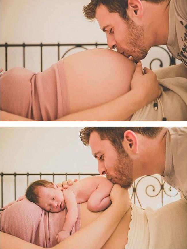 Já mostramos péssimas fotos para anúncio de gravidez, mas agora vamos mostrar pessoas criativas que fizeram lindas fotos do antes e depois das grávidas.