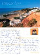 Olhos D'Agua, Portugal Postcard Posted 2013 Stamp