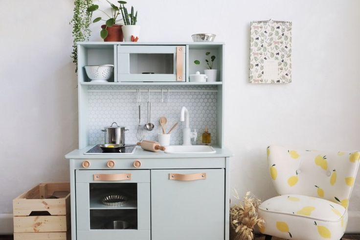 Ikea hack comment relooker la cuisine pour enfant duktig do it myself cuisine enfant - Cuisinette ikea ...