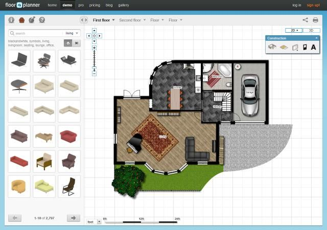 17 best ideas about floor planner on pinterest room for Room furniture layout software