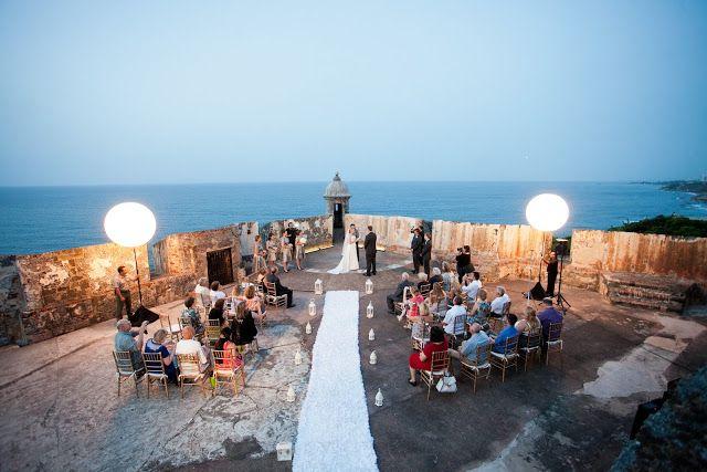 A Puerto Rican Wedding on El Morro Fort ~ http://www.haveashley.com/