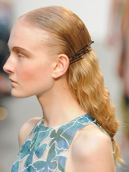 Thakoon Spring 2013: crimped waves | allure.com
