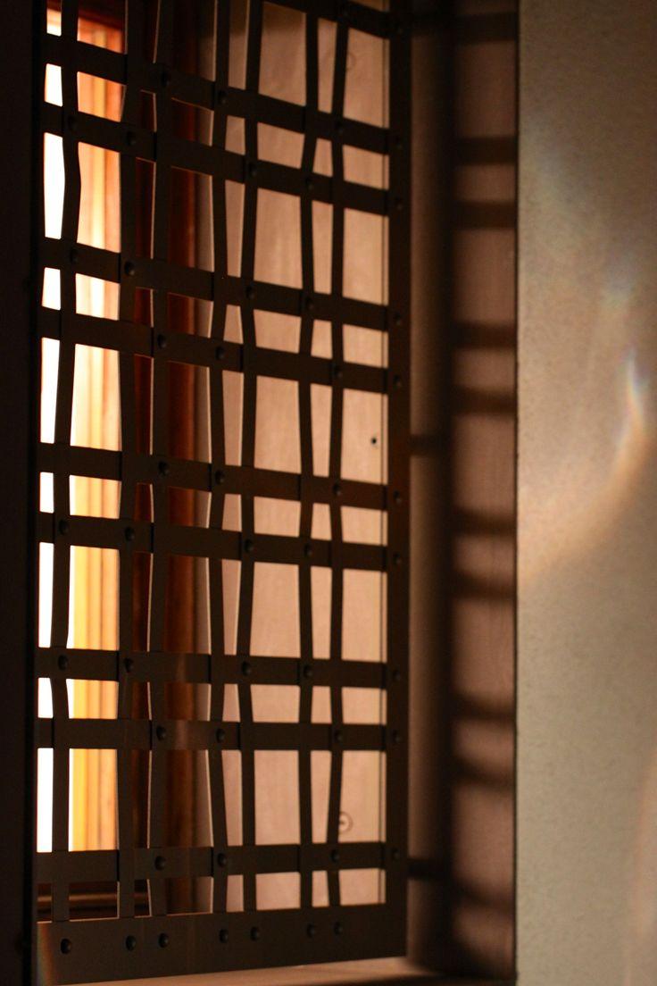 Grata in ferro per finestra