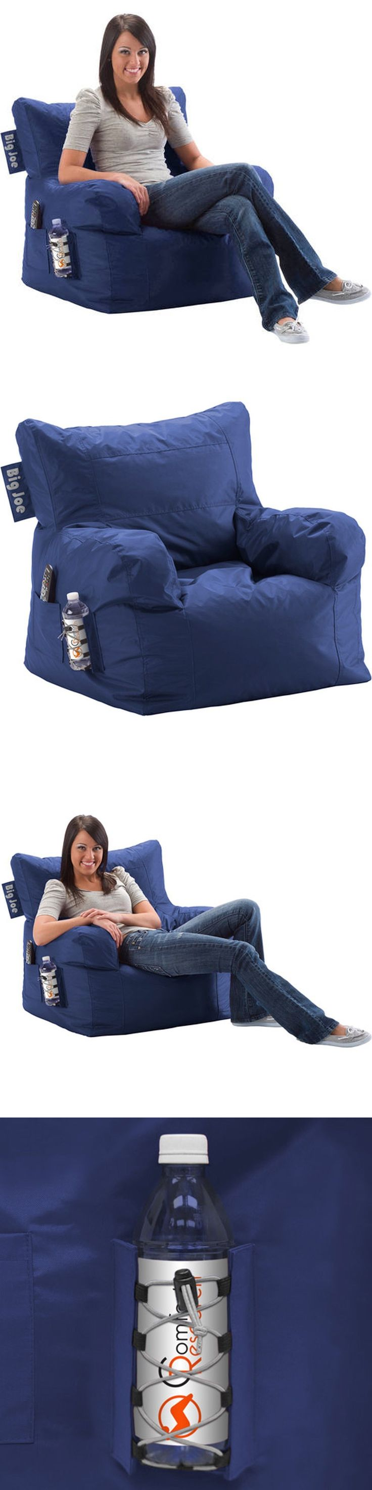 Bean bags and inflatables 48319 bean bag blue large cozy