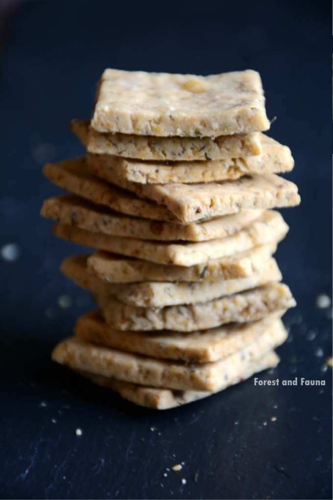 AIP Paleo Ranch Crackers -