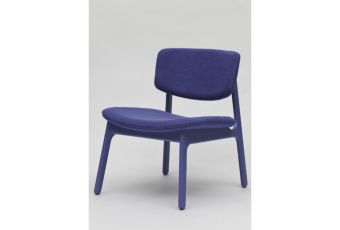 Elmo QiQi Lounge Chair code:CH91055dimensions:620x660x720 SH410materials:Solid FSC certified American White Oak; Fabric - Woven Image Flux or COMcolours:American White Oak, other colours available to order, Blackpackaging:1pc per carton 460x640x108 0.392m3Description:Elmo QiQi Lounge Chair #obodesign #furnituredesign
