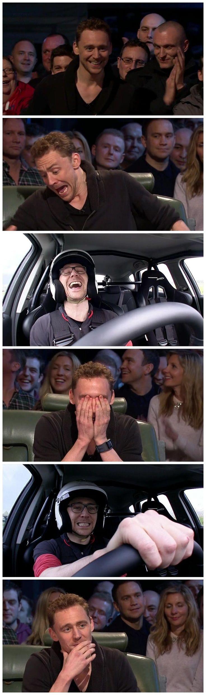 Tom Hiddleston on Top Gear