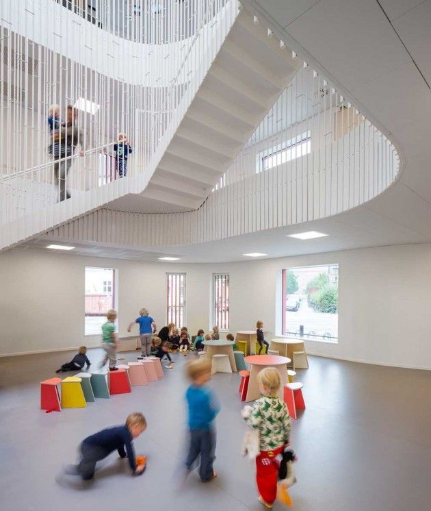 Danish Architects COBE Have Recently Completed A New Daycare Center In Copenhagen Denmark