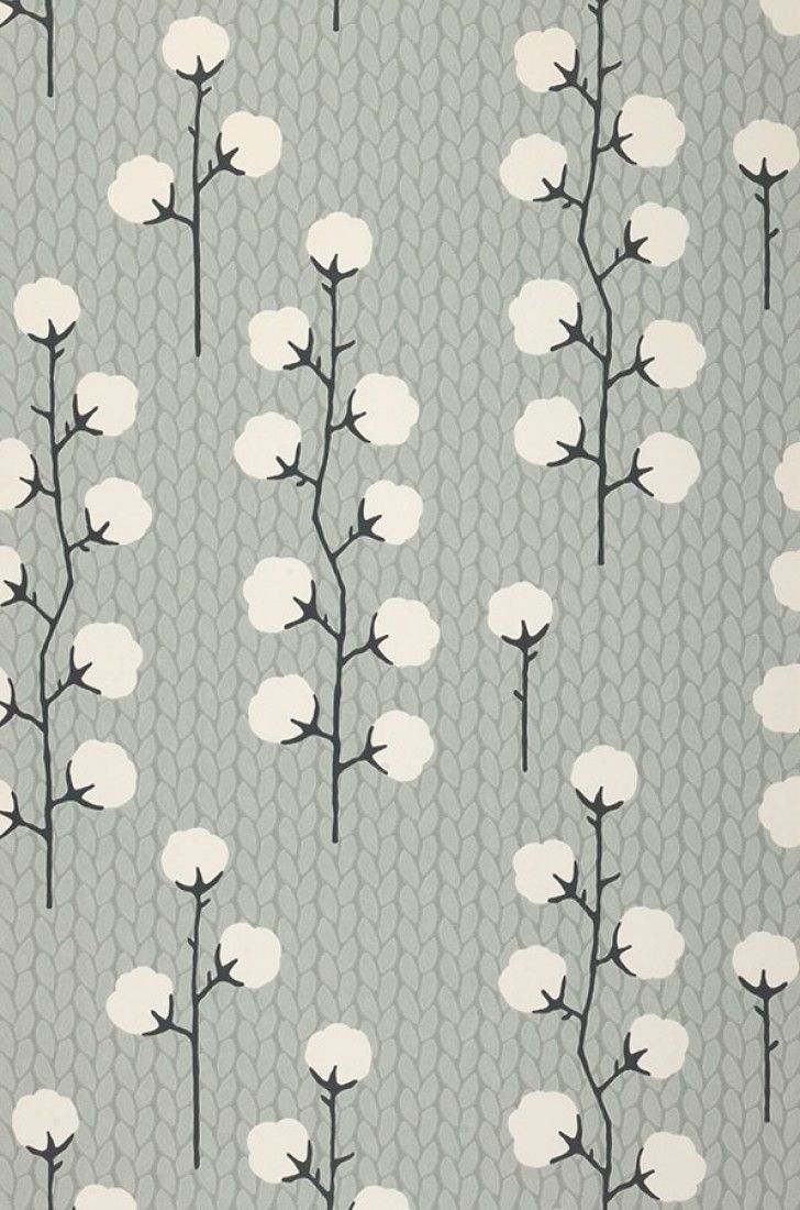 Sweet Cotton | Floral wallpaper | Wallpaper patterns | Wallpaper from the 70s