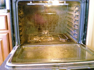 Cleverlyinspired: Dirty Oven.....so sad