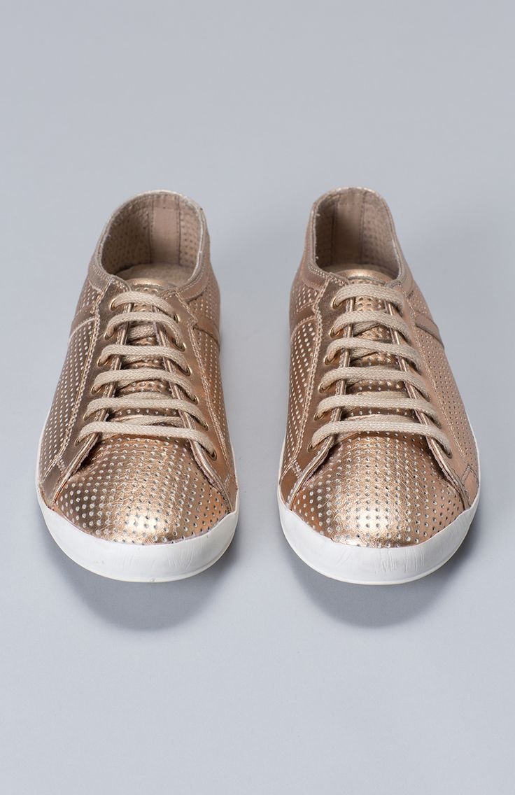 Holu Perforated Lace Up Sneaker by Elk Accessories | Elk #WITCHERYSTYLE