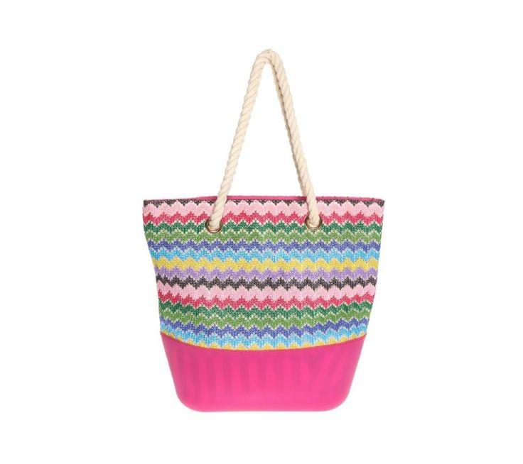 Veľká kabelka s cik-cak vlnkami   modino.sk #ModinoSK #modino_sk #modino_style #style #fashion #summer #bag