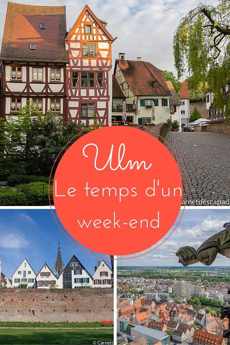 Visiter Ulm le temps d'un week-end - Mes idées de visites et mes bonnes adresses d'hôtel, cafés et restaurants