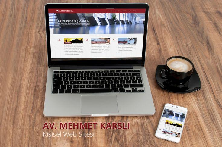 Avukat Mehmet Karslı ya ait bilgileri içeren kişisel web site tasarımıdır.