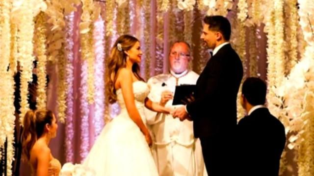 Check Out All of Sofia Vergara's Stunning Wedding Fashion #Chandeliers